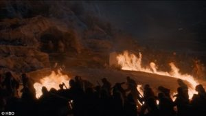 Still of fire ring Game of Thrones