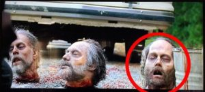 Johnny Depp Dead Zombie Head